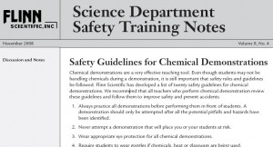 Flinn Safety Training Notes